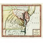 Carte de la Virginie et du Mariland, d. 1765