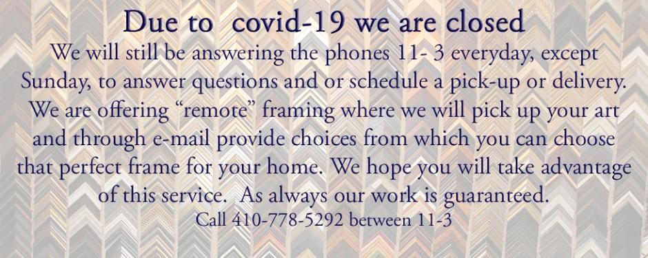 Covid Closing