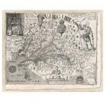 John Smith-Map of Virginia, d. 1606