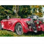 Eyes on the River / 1938 Alfa Romeo